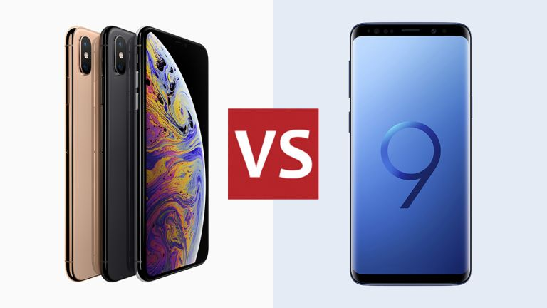 New iPhone XS vs Samsung Galaxy S9