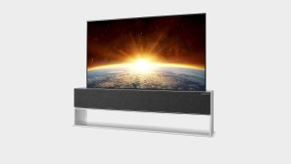 LG Signature OLED RX rollable TV