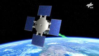 The Eu:CROPIS Satellite: Artist's Illustration