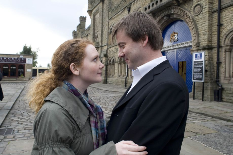John Stape and Fiz in Coronation Street 2009