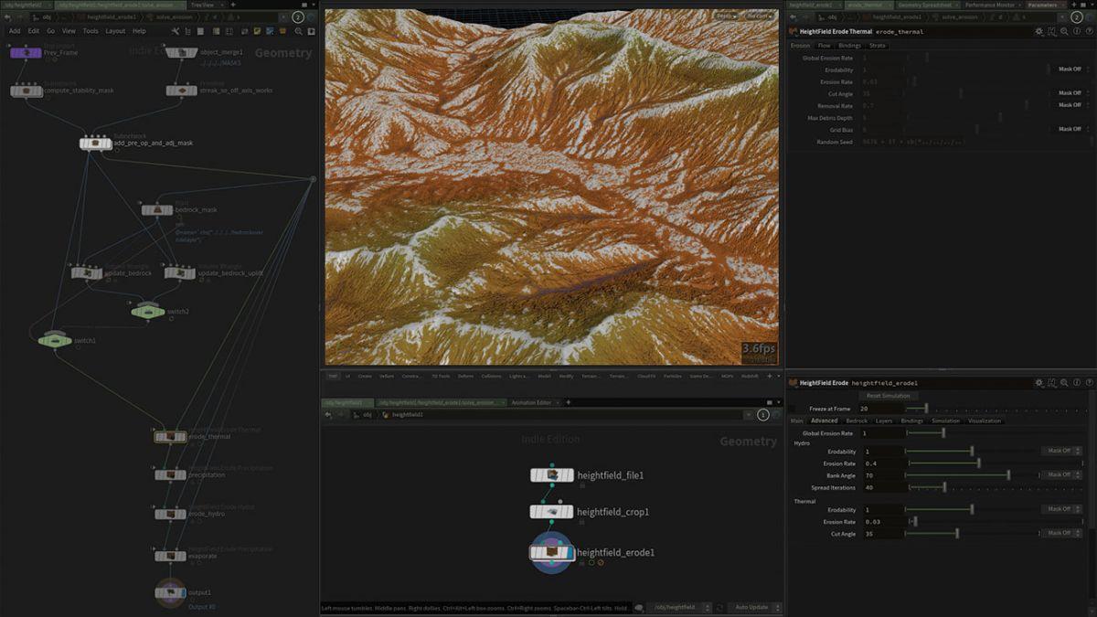 Build terrain in Houdini 17 | Creative Bloq