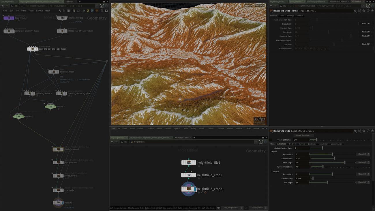 Build terrain in Houdini 17 | The Blog Pros