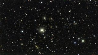 The Dark Energy Camera imaged 10 selected areas of the sky called deep fields. The multiple images of each provided astronomers with a glimpse of distant galaxies and how they are distributed throughout the universe.