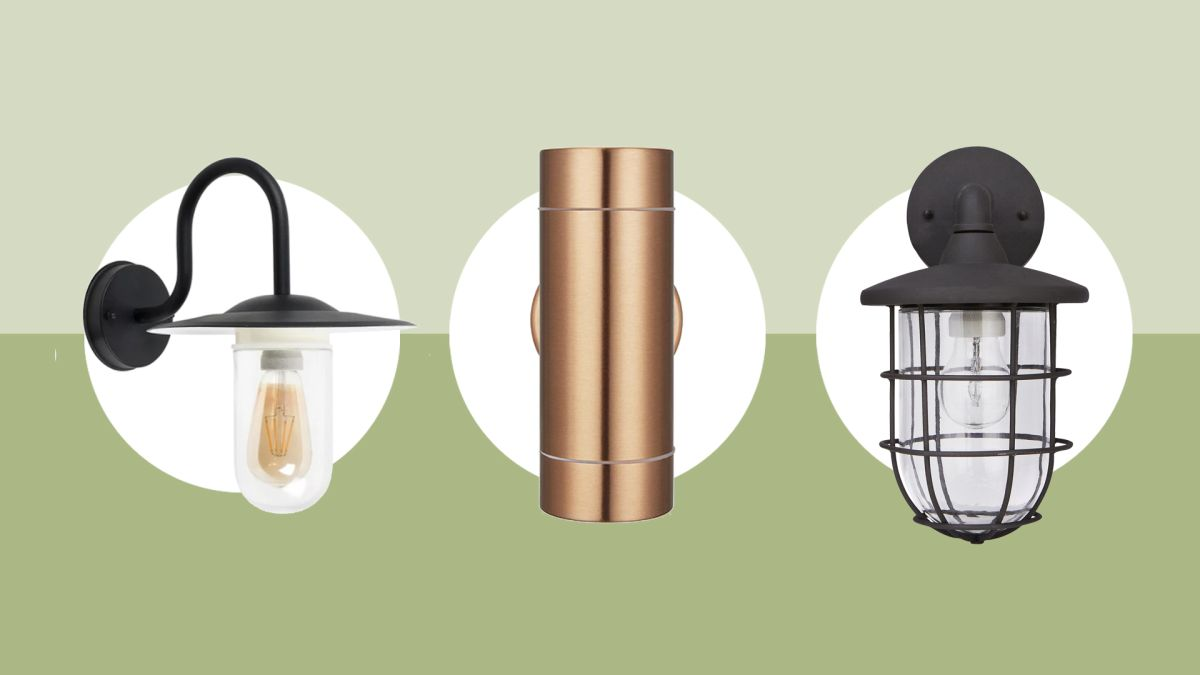 The best outdoor wall lights to help illuminate your garden in style