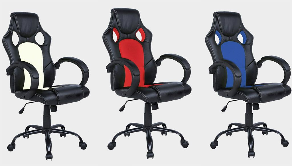 These racing-themed office chairs are on sale for $52 today
