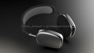 El supuesto diseño de los Apple AirPods Studio en 3D