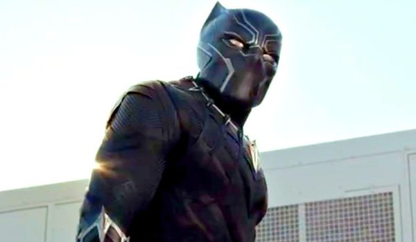 See Black Panther Out Of Costume In New Captain America: Civil War Pic