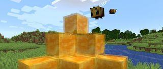 Minecraft honey blocks