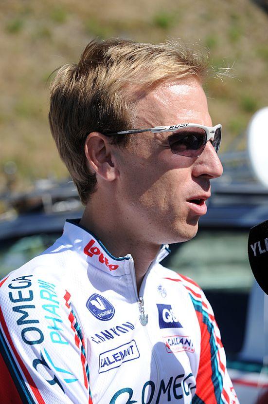 Charly Wegelius, Tour de France 2010 stage 1