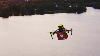 Vodafone and Ericsson test new 5G drone technology.