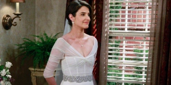 Cobie Smulders as Robin on How I Met Your Mother
