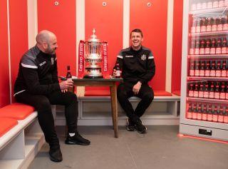 Marine FC – Emirates FA Cup Preparation – Marine Travel Arena