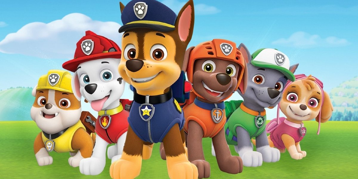 The pups of Paw Patrol