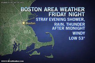 Boston Weather Manhunt Marathon