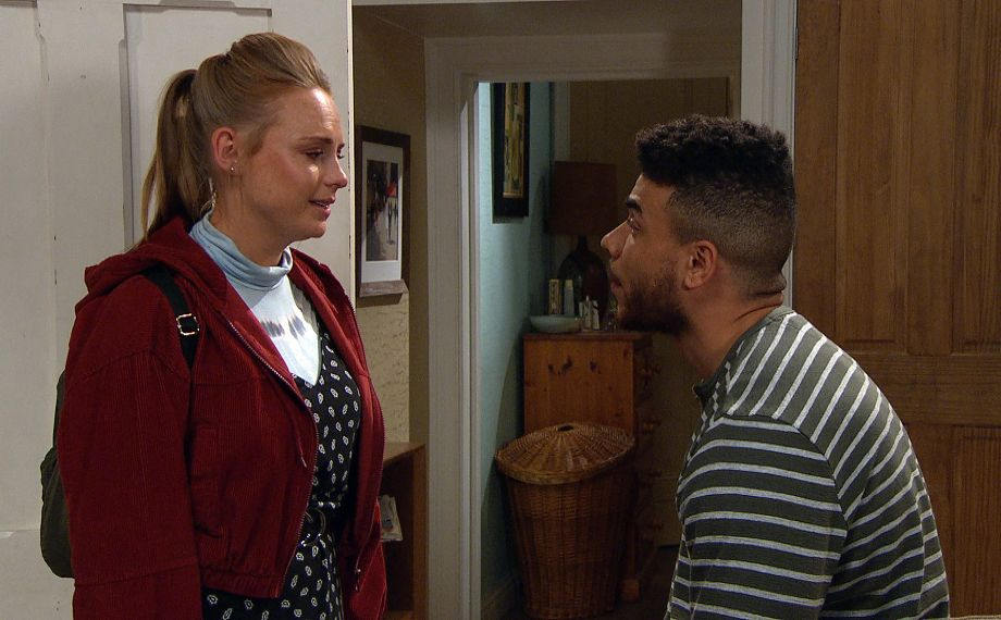 Amy makes a shocking confession to Nate in Emmerdale