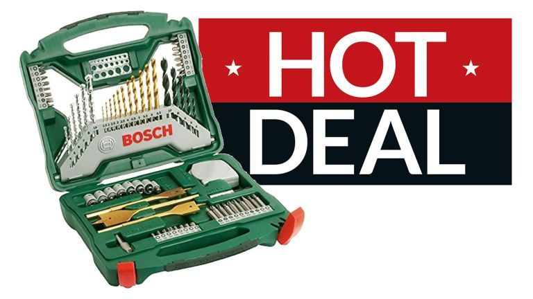 Bosch drill set best price
