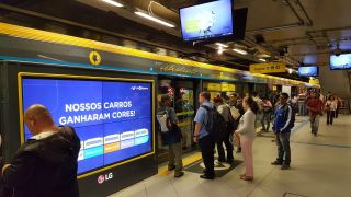 AdMobilize Audience Analytics Installed in Sao Paolo's Main Subway System