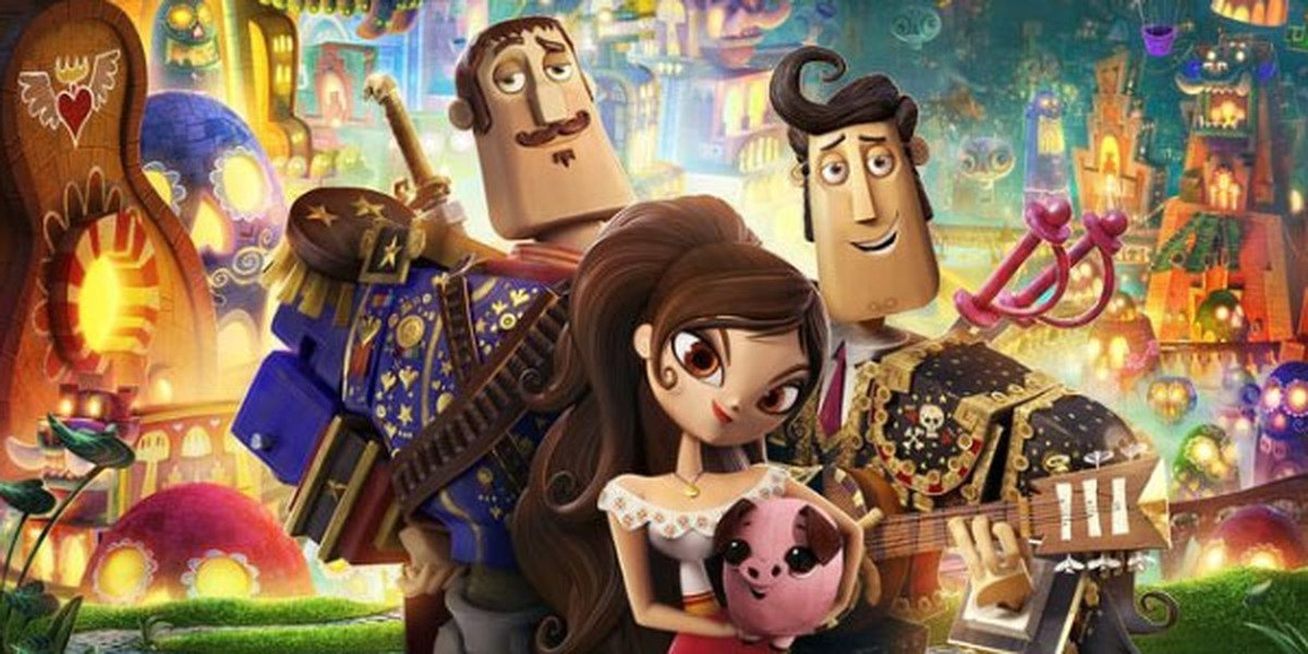 Some of the main characters of The Book of Life.