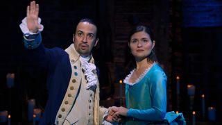 watch Hamilton online on Disney Plus