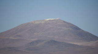 Officials with the European Southern Observatory made way for the future European-Extremely Large Telescope on June 19, 2014 with a modest explosive blast atop a mountain in Chile.