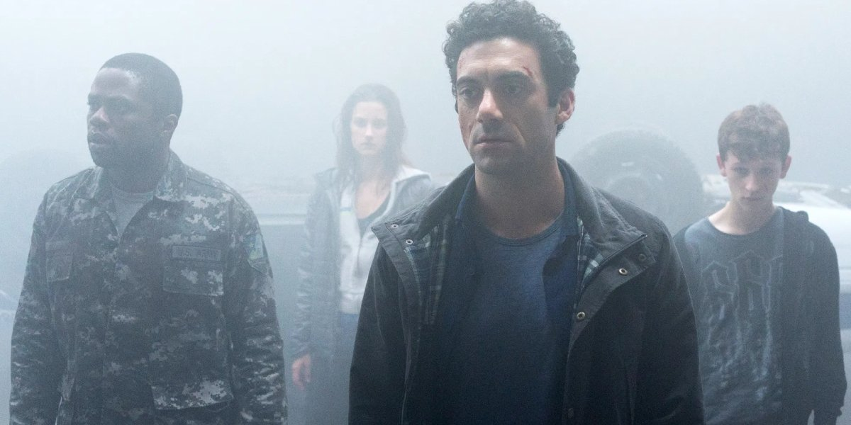 The cast of The Mist