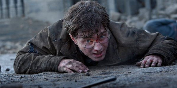 Harry in Deathly Hollows Part 2