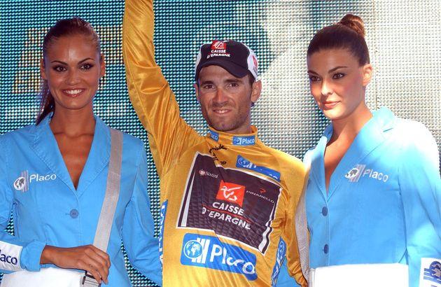 Alejandro Valverde Tour of Spain stage 2