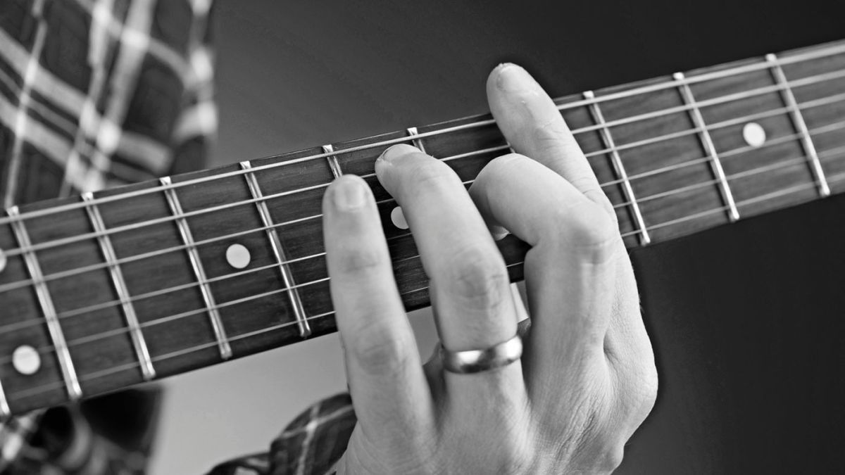 Guitar music theory made easy: major chords