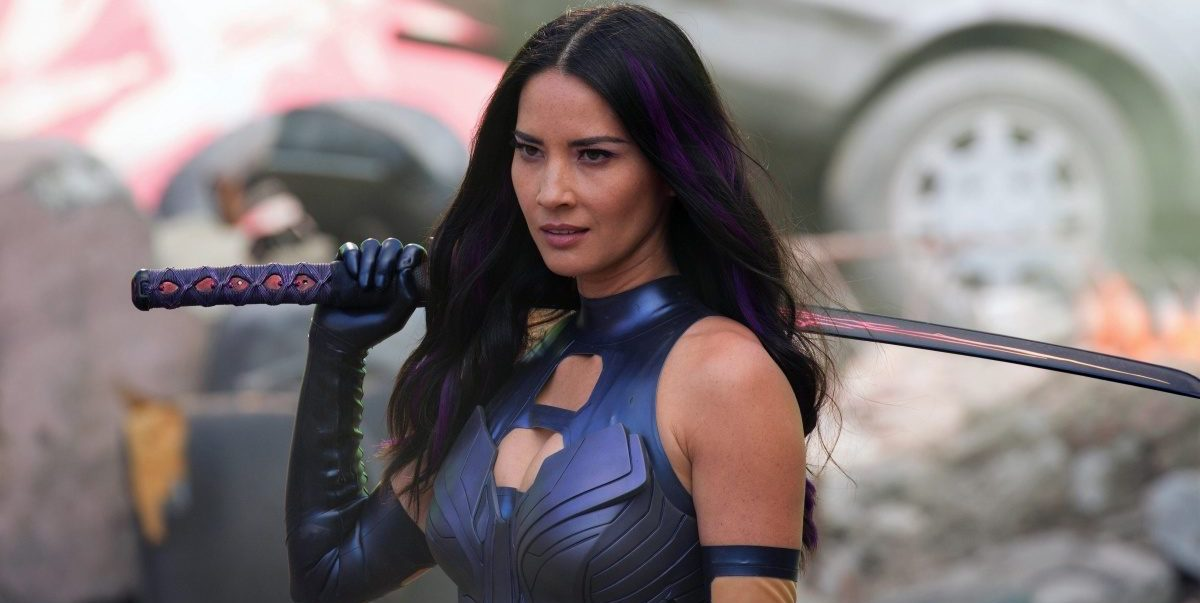 Olivia Munn as as Psylocke in X-Men: Apocalypse