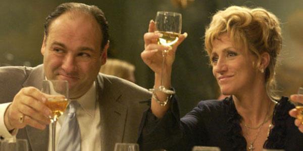 Edie and Gandolfini