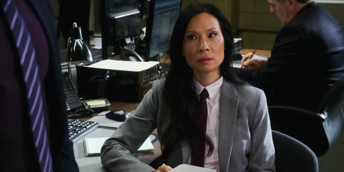 Lucy Liu as Joan Watson in CBS Elementary