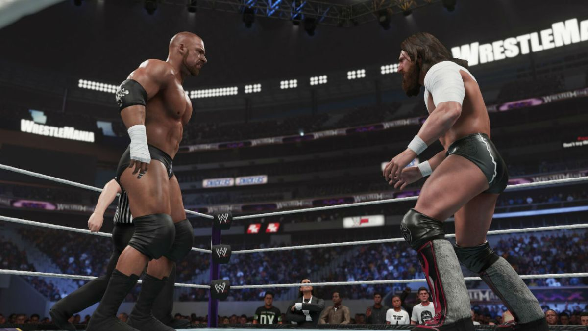Showcase mode returns to WWE 2K19 with 9 arenas and 11 Daniel Bryan attires