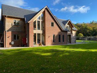 modern oak frame home