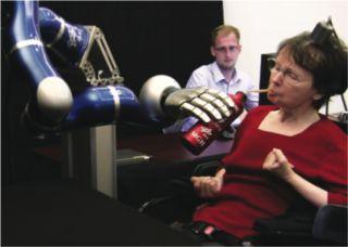 robotic prosthetics, mind-control, mind control