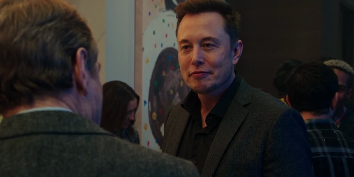 Why Him Elon Musk party cameo