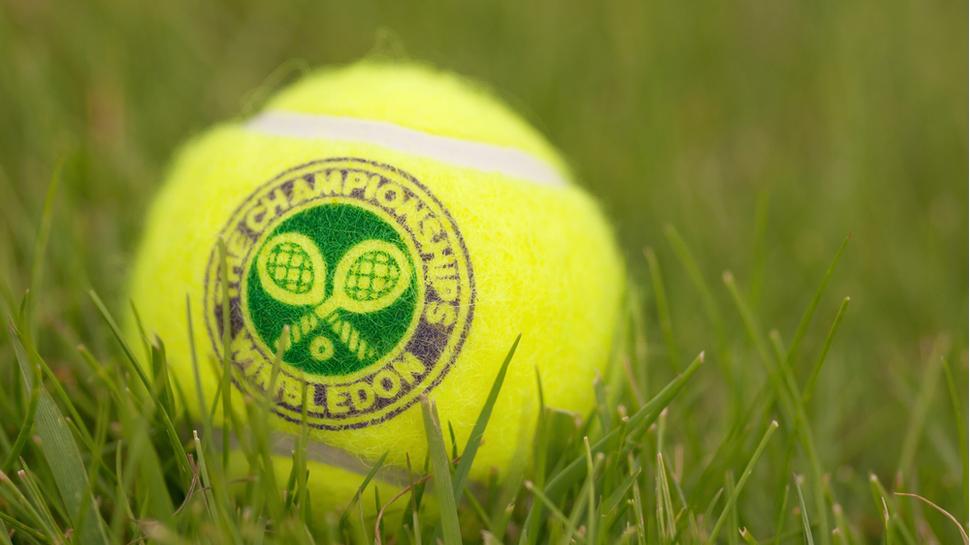Wimbledon tennis ball