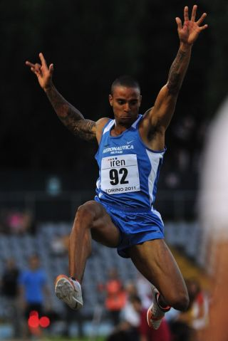 Long Jumper Andrew Howe