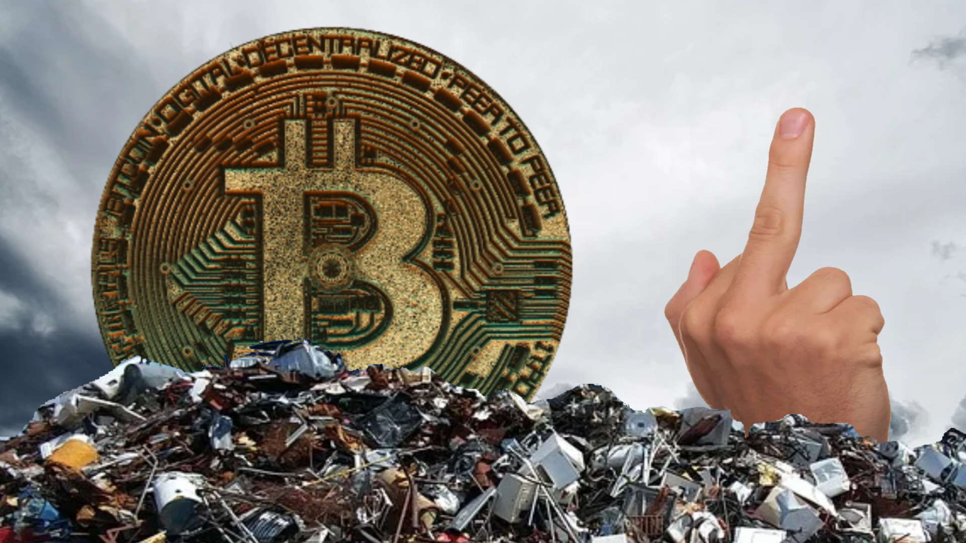 Man offers local authorities £50m to help in his hopeless quest for lost bitcoin fortune
