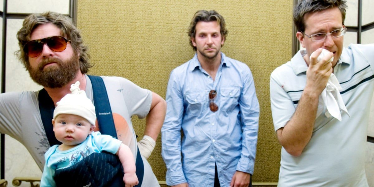 Zach Galifianakis, Bradley Cooper, Ed Helms - The Hangover