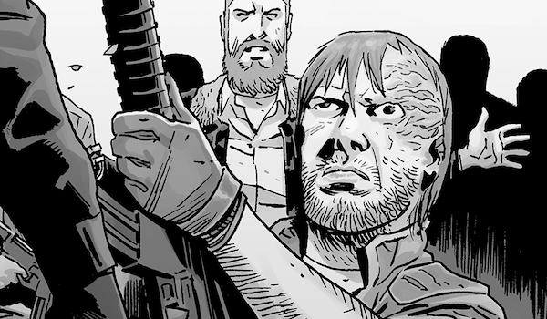 dwight in the walking dead comics