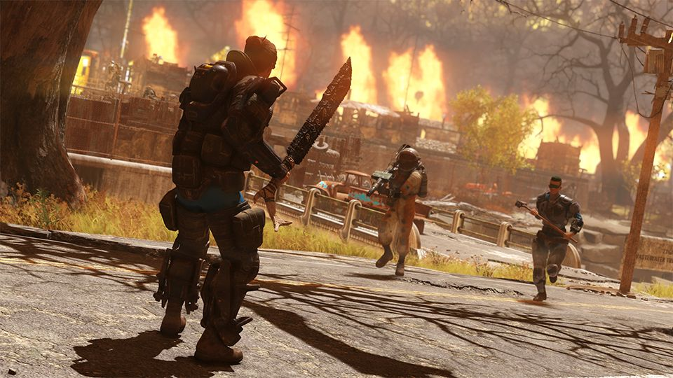 Fallout 76's battle royale mode preview will stick around a while longer