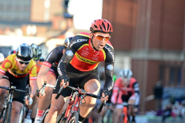 Yanto Barker, Tour Series 2014, Stoke-on-Trent