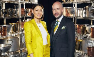 TV tonight Emma Willis and Tom Allen host Cooking with the Stars