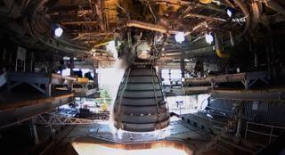 SLS Engine Test