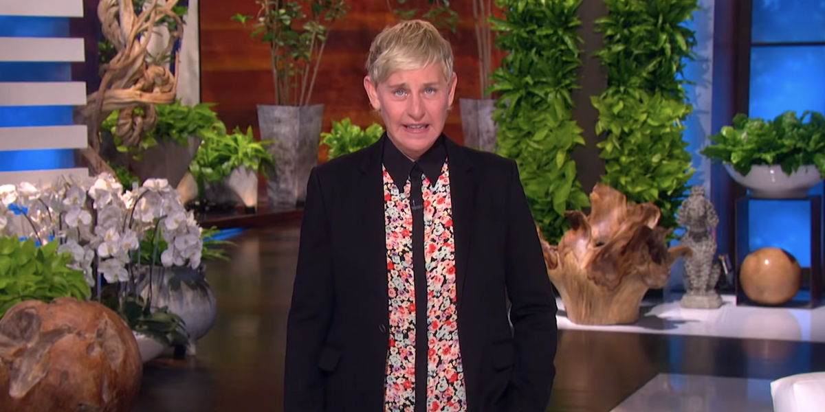 the ellen degeneres show ellen october 2020