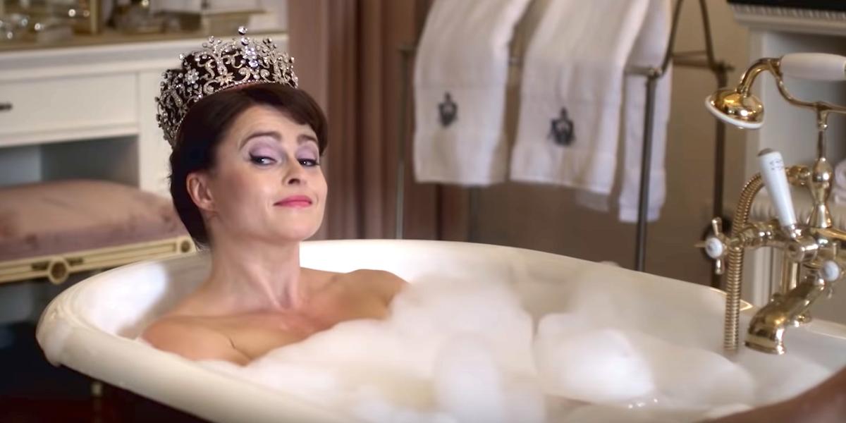 the crown netflix princess ann helena bonham carter