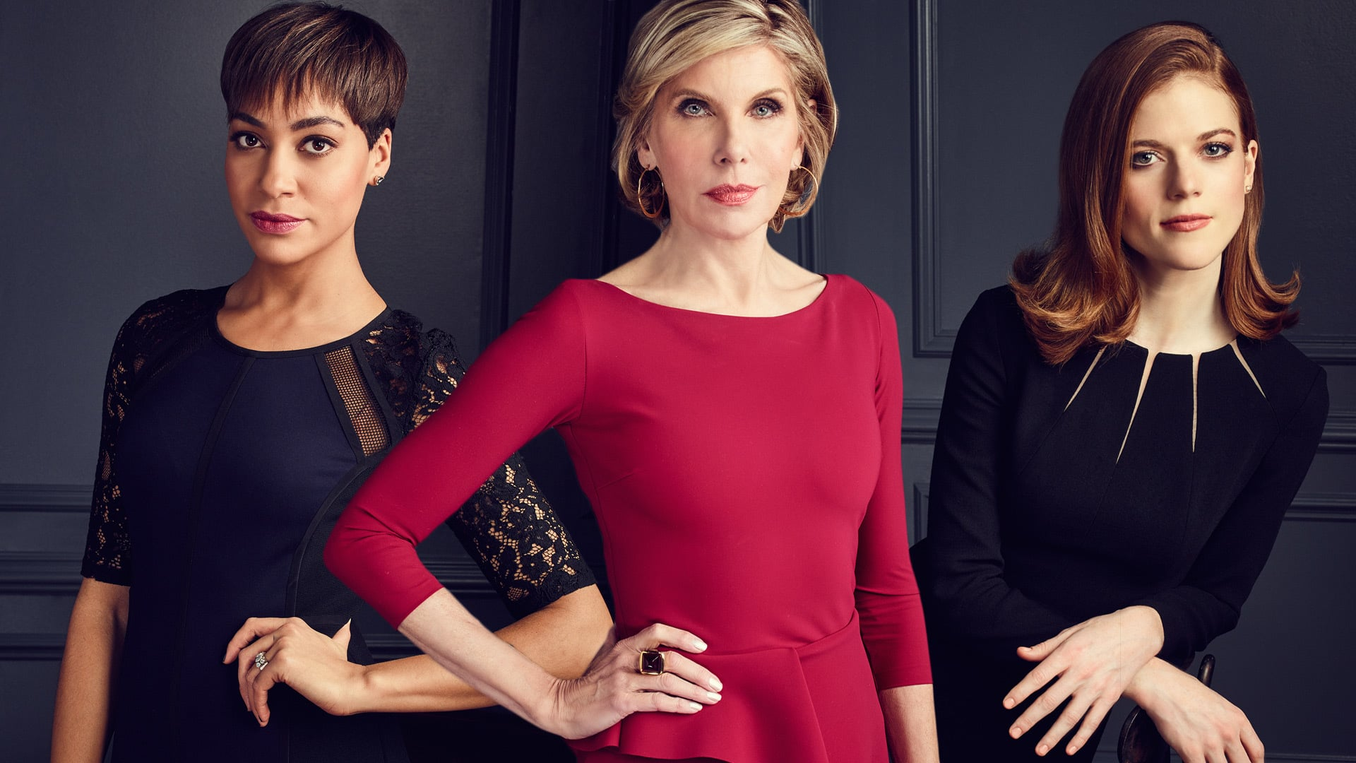 A promo shot for the good fight