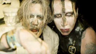 Depp and Manson