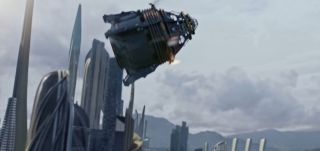 Steampunk-Style Space Capsule in 'Tomorrowland'