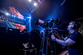 Westlife S The Twenty Tour Uses Blackmagic Design Live Solution Broadcasting Cable
